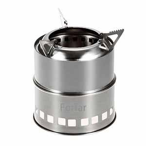 Hornillo Portable para Leña, Alcohol, Carbón