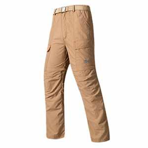 Pantalon Tactico Desmontable Impermeable
