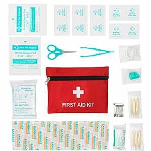 Botiquin de primeros auxilios - 58 piezas