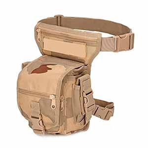 DoubleVillages - Bolso de pierna Militar