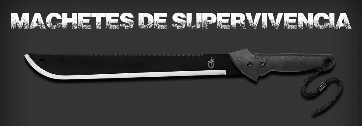 machete de supervivencia