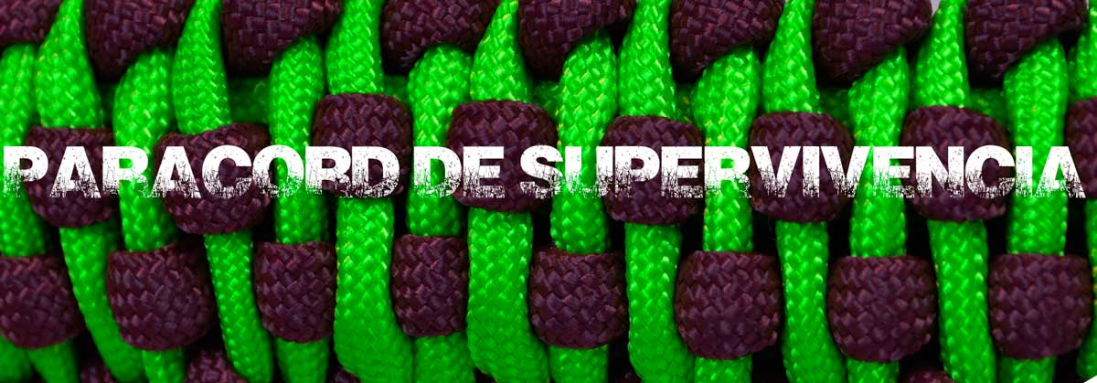 paracord de supervivencia